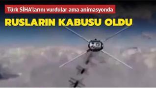 Rusların kabusu oldu: Türk SİHA'larını vurdular ama animasyonda