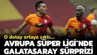 Avrupa Süper Ligi'nde Galatasaray sürprizi