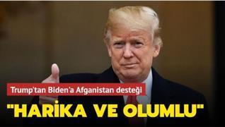 Trump'tan Biden'a Afganistan desteği