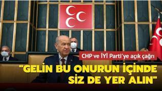 Bahçeli'den CHP ve İYİ Parti'ye açık çağrı: Gelin bu onurun içinde siz de yer alın