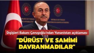 Dışişleri Bakanı Çavuşoğlu'ndan gündeme ilişkin önemli açıklamalar