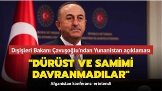 Dışişleri Bakanı Çavuşoğlu gündeme ilişkin soruları yanıtladı
