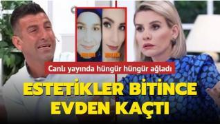 Karısına estetik yaptırmak uğruna hayvanlarını satan adam Esra Erol'da hüngür hüngür ağladı