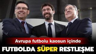Futbolda 'süper' restleşme