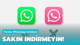Pembe WhatsApp tehlikesi!