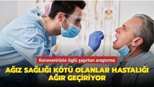 Koronavirüsle ilgili şaşırtan araştırma