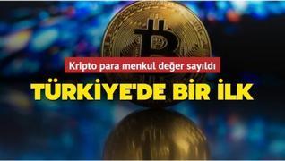 Türkiye'de bir ilk: Kripto paraya haciz geldi