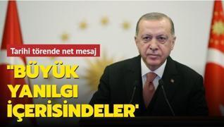 Arnavutluk'ta tarihi tören! 'Türkiye'ye kendi çıkarları doğrultusunda hareket edenler büyük yanılgı içerisinde'