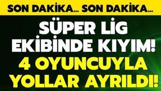 B.B. Erzurumspor'da kıyım!