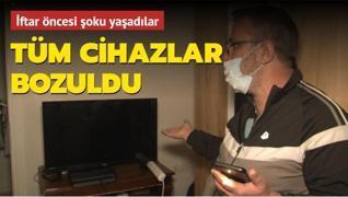 İftar öncesi şoku yaşadılar! İstanbul'da voltaj krizi