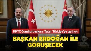 KKTC Cumhurbaşkanı Tatar Türkiye'ye geliyor... Başkan Erdoğan ile görüşecek