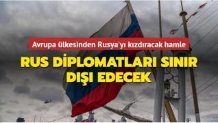 Avrupa ülkesinden Rusya'yı kızdıracak hamle: Rus diplomatları sınır dışı edecek