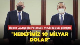 Dışişleri Bakanı Çavuşoğlu Polonyalı mevkidaşıyla görüştü