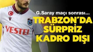 Trabzonspor'da sürpriz kadro dışı kararı