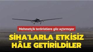 2 PKK'lı terörist daha SİHA'lar tarafından etkisiz hâle getirildi