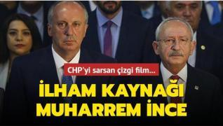 CHP'yi sarsan çizgi film... 'İlham kaynağı Muharrem İnce'