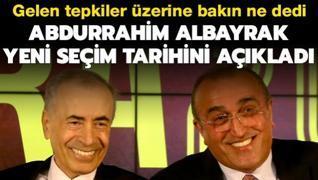 Abdurrahim Albayrak yeni seçim tarihini açıkladı