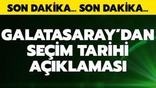Galatasaray'dan seçim tarihiyle ilgili yeni açıklama