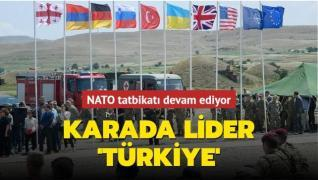 NATO tatbikatı devam ediyor... Karada lider Türkiye