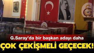 Galatasaray'a bir başkan adayı daha! Listesini teslim etti