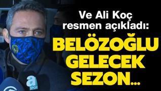 Ve Ali Koç resmen açıkladı! Gelecek sezon Emre Belözoğlu ile...