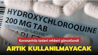 Hidroksiklorokin ilacı artık koronavirüs tedavisinde kullanılmayacak