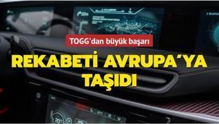 TOGG küresel rekabetteki yerini Avrupa'ya taşıdı