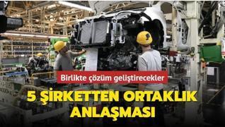 5 otomobil şirketi ortak çözüm geliştirecek