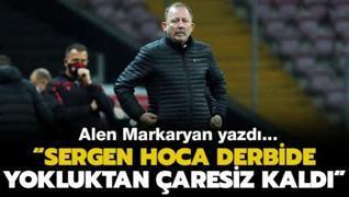 Alen Markaryan: 'İyi düşünelim, iyi bitsin'
