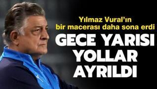 Süper Lig'de gece 01:30'da teknik direktör ayrılığı yaşandı