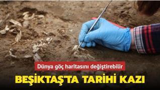 Beşiktaş'ta tarihi kazı