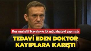 Rus muhalif lider Navalny'yi tedavi eden doktor kayıplara karıştı