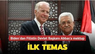 ABD Başkanı Biden'dan Filistin Devlet Başkanı Mahmud Abbas' mektup... İlk temas