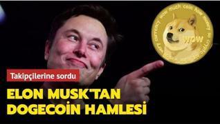 Elon Musk'tan takipçilerine Dogecoin sorusu