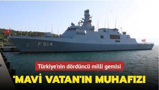 TCG Kınalıada Korveti 'mavi vatan'ı korumak için hazır