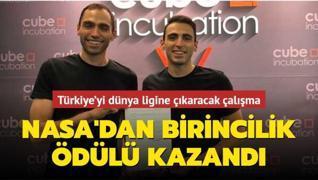 Türkiye'yi dünya ligine çıkaracak çalışma! NASA'dan birincilik ödülü kazandı