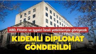 ABD, Filistin ve işgalci İsrail yetkilileriyle görüşecek... Kıdemli diplomat gönderildi