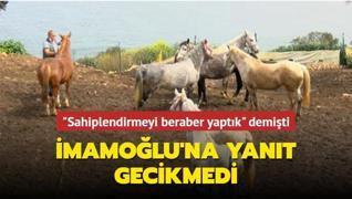 İmamoğlu'nun iddialarına İstanbul Tarım ve Orman İl Müdürlüğü'nden yalanlama