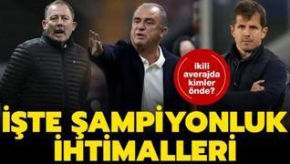 Süper Lig'de son hafta nefesleri kesecek! İşte şampiyonluk ihtimalleri...