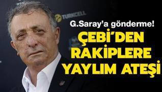 Ahmet Nur Çebi'den yaylım ateşi