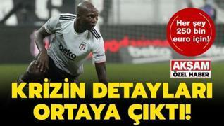 Beşiktaş'ta Aboubakar krizinin detayları ortaya çıktı