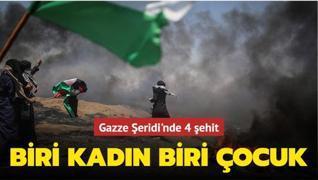 Gazze Şeridi'nde 4 şehit