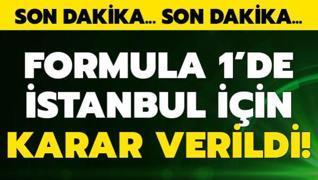 F1 Türkiye Grand Prix'i için karar verildi