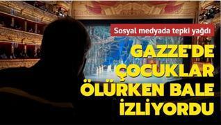 Gazze saldırı altındayken Guterres bale izliyordu
