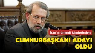 İran'ın eski Meclis Başkanı Cumhurbaşkanı adayı oldu