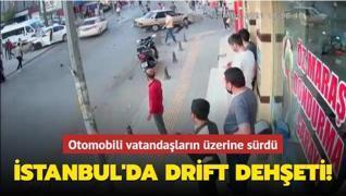 İstanbul'da drift dehşeti!