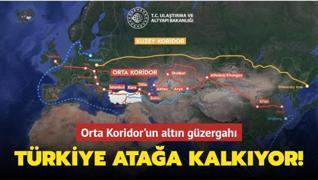 Orta Koridor'un altın güzergahı... Türkiye atağa kalkıyor!