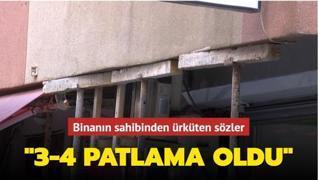 Şişli'de boşaltılan binanın sahibinden ürküten sözler