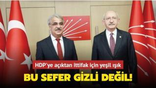 HDP'ye açıktan ittifak için yeşil ışık