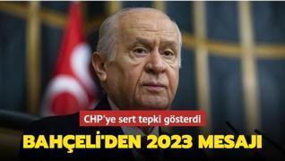 Bahçeli'den 2023 seçim açıklaması